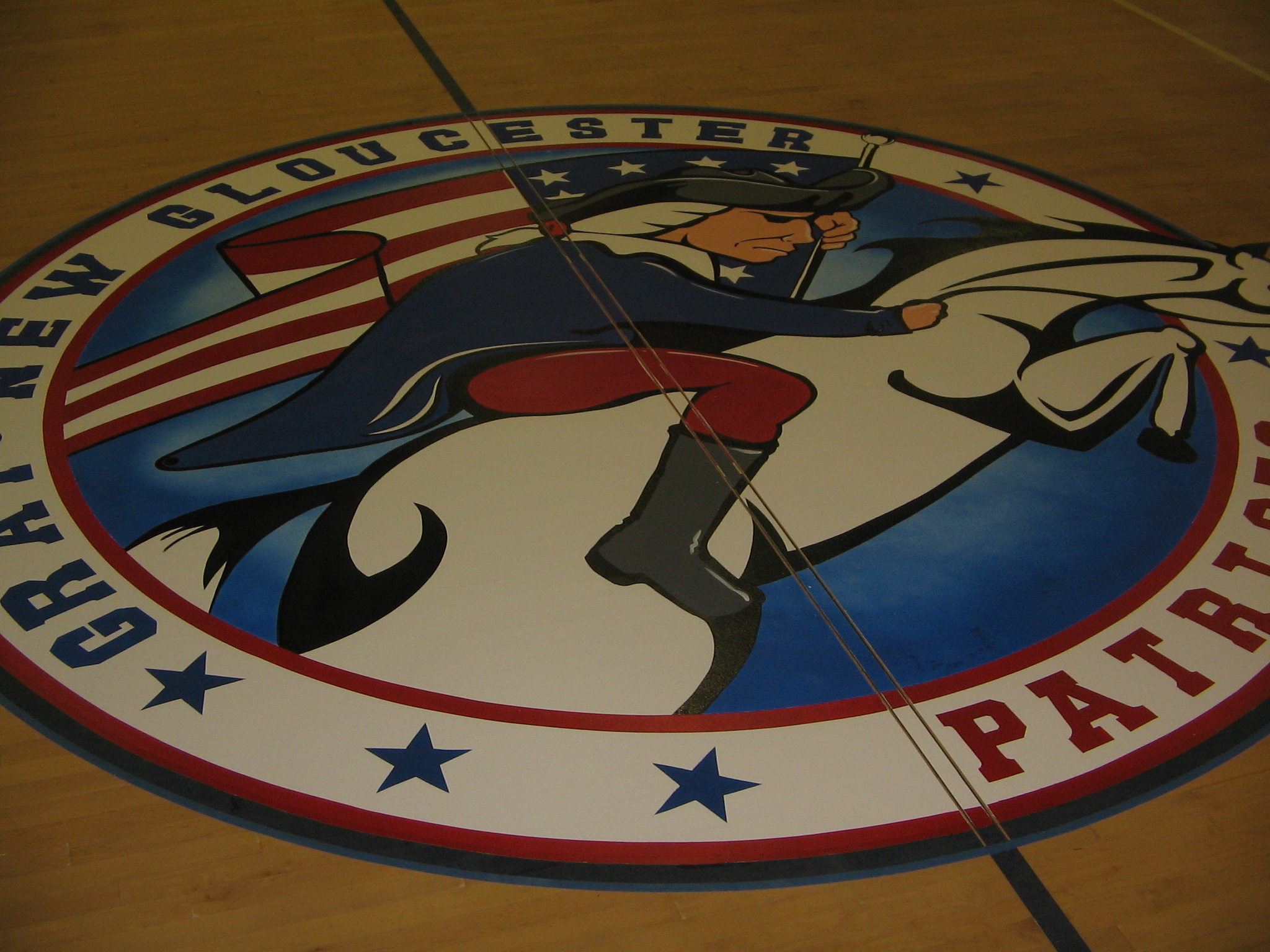 Logo - Patriots - Gray New Glouster High School - Gray ME.JPG