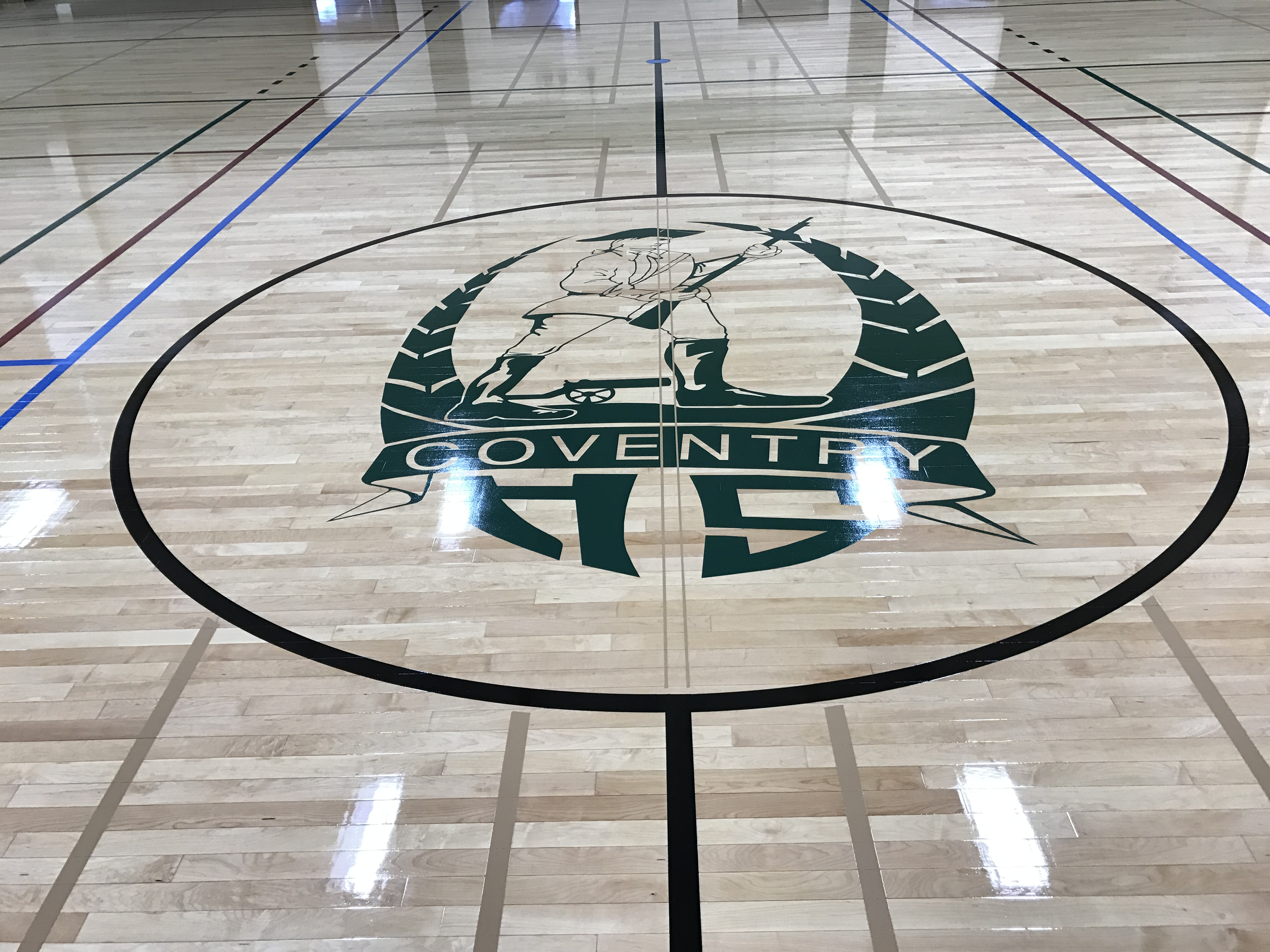 Logo - Patriot Outline - Coventry High School - Coventry CT.JPG