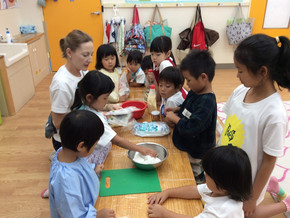Cooking day in Summer Camp