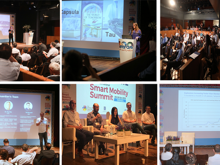 Capsula Hosts Startups Festival at the Smart Mobility Summit