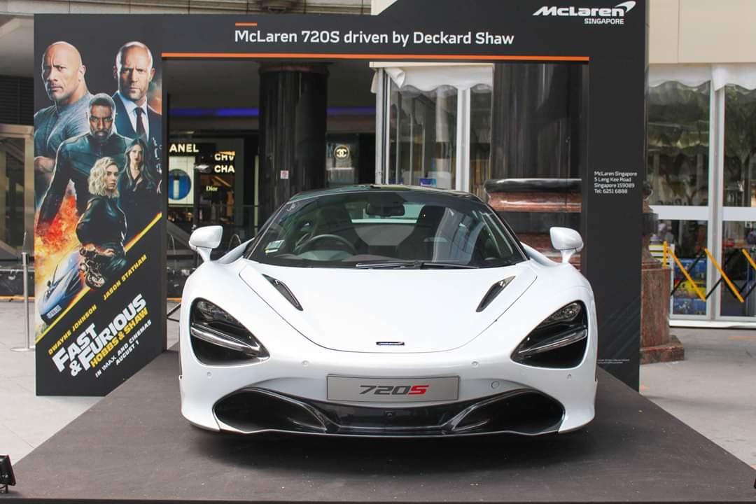 McLaren 720S EXHIBITION