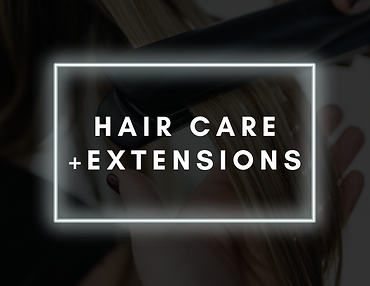hair care + extensions