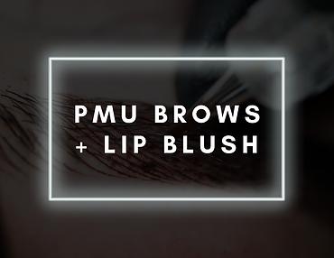pmu brows + lip blush
