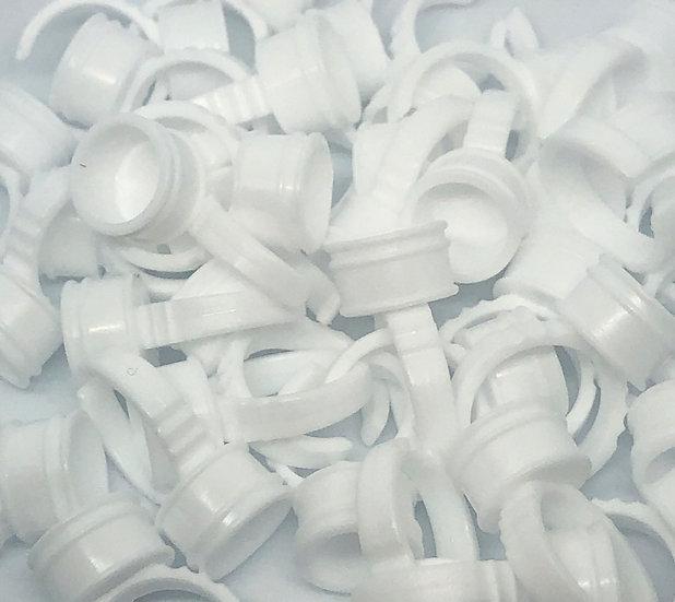 White Finger Ring (25 pack)