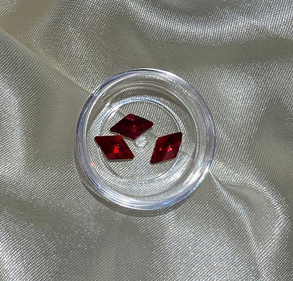 Big Rhombus Gems - Ruby