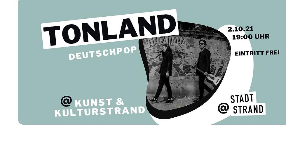 TONLAND - live in concert auf der Strandbühne