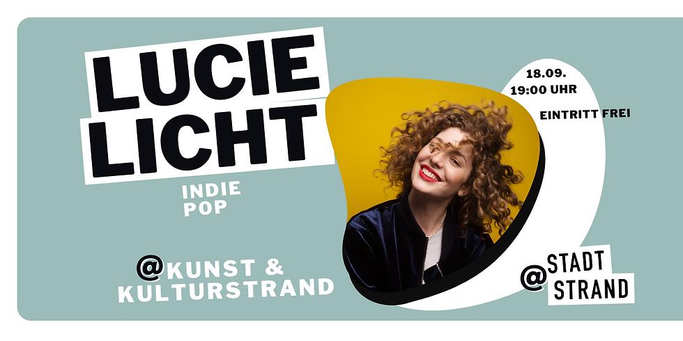 LUCIE LICHT - live in concert auf der Strandbühne