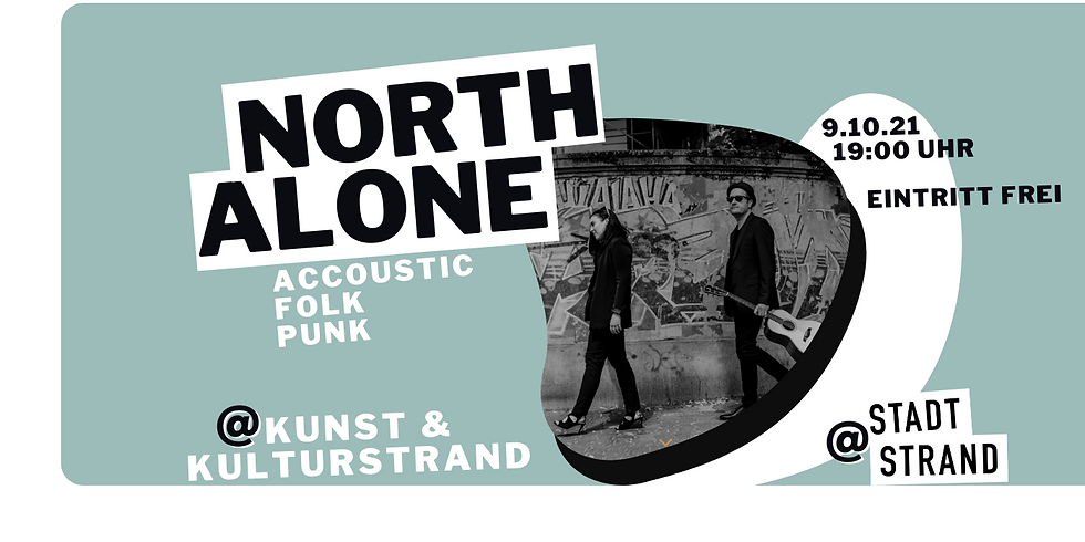 NORTH ALONE - live in concert auf der Strandbühne