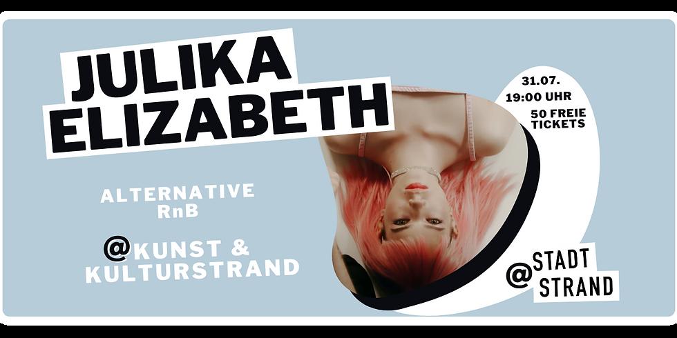 JULIKA ELIZABETH         Live @ Kunst- und Kulturstrand Düsseldorf