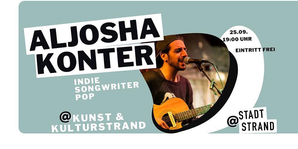 ALJOSHA KONTER - live in concert auf der Strandbühne