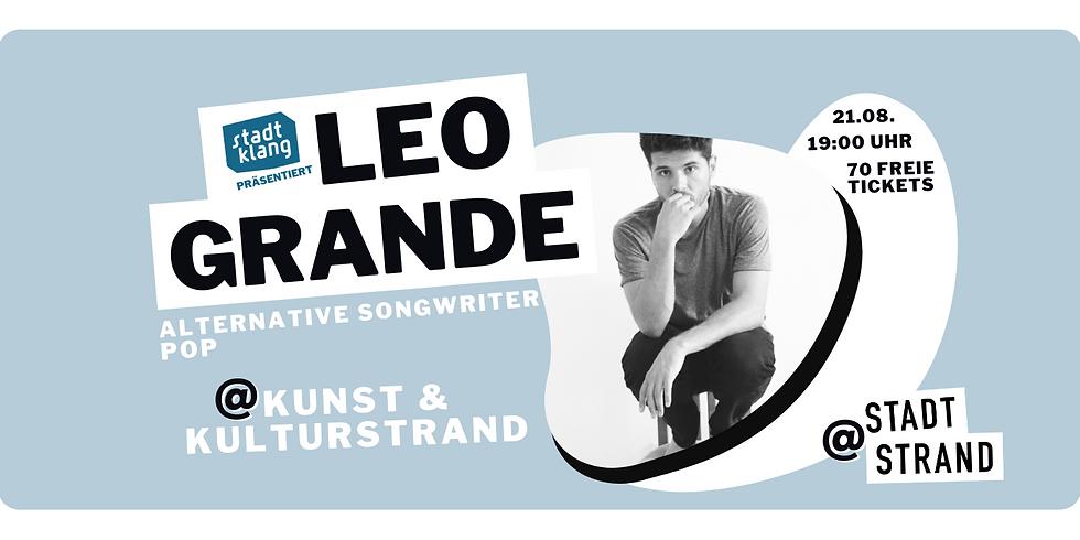LEO GRANDE        Live @ Kunst- und Kulturstrand Düsseldorf  (2)