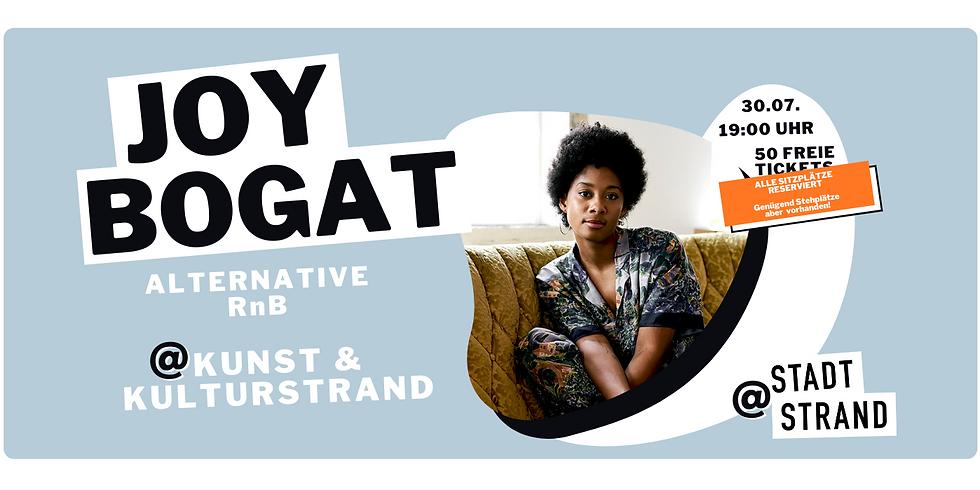 JOY BOGAT         Live @ Kunst- und Kulturstrand Düsseldorf