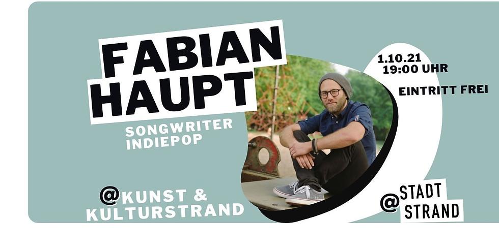FABIAN HAUPT - live in concert auf der Strandbühne