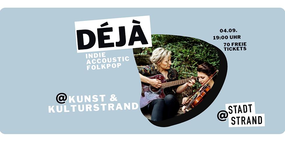 DÉJÀ        Live @ Kunst- und Kulturstrand Düsseldorf   (1)