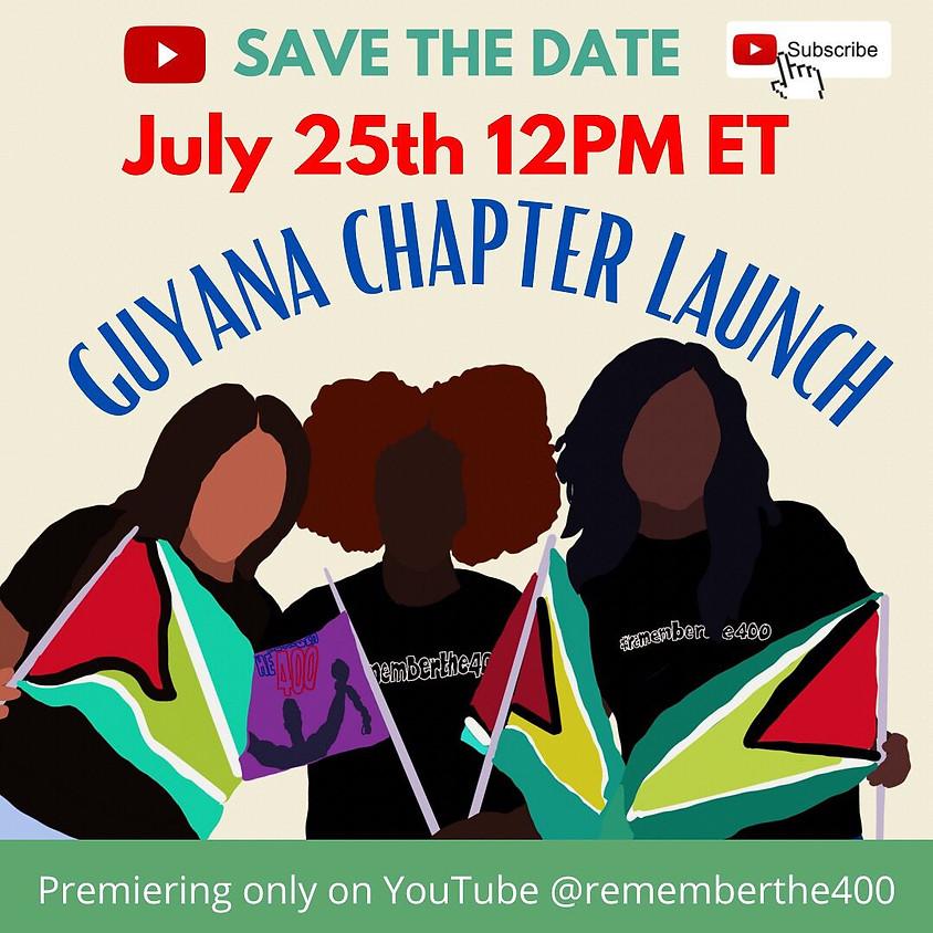 Guyana Chapter Launch