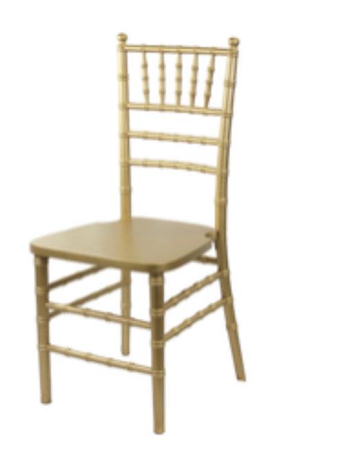 Gold Wood Chivari Chairs