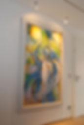 LED-Spots zur Ausleuchtung von Kunstwerken