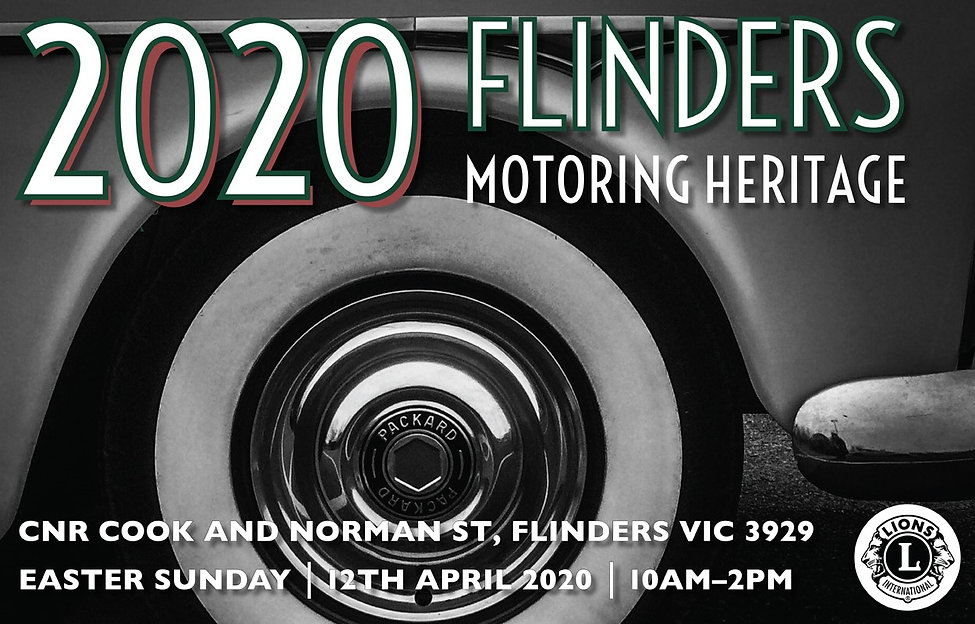 2020 Flinders Motoring Heritage web home
