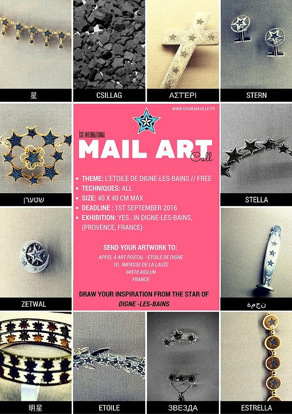 mail art call 2016 - arte correo argentina - star of digne