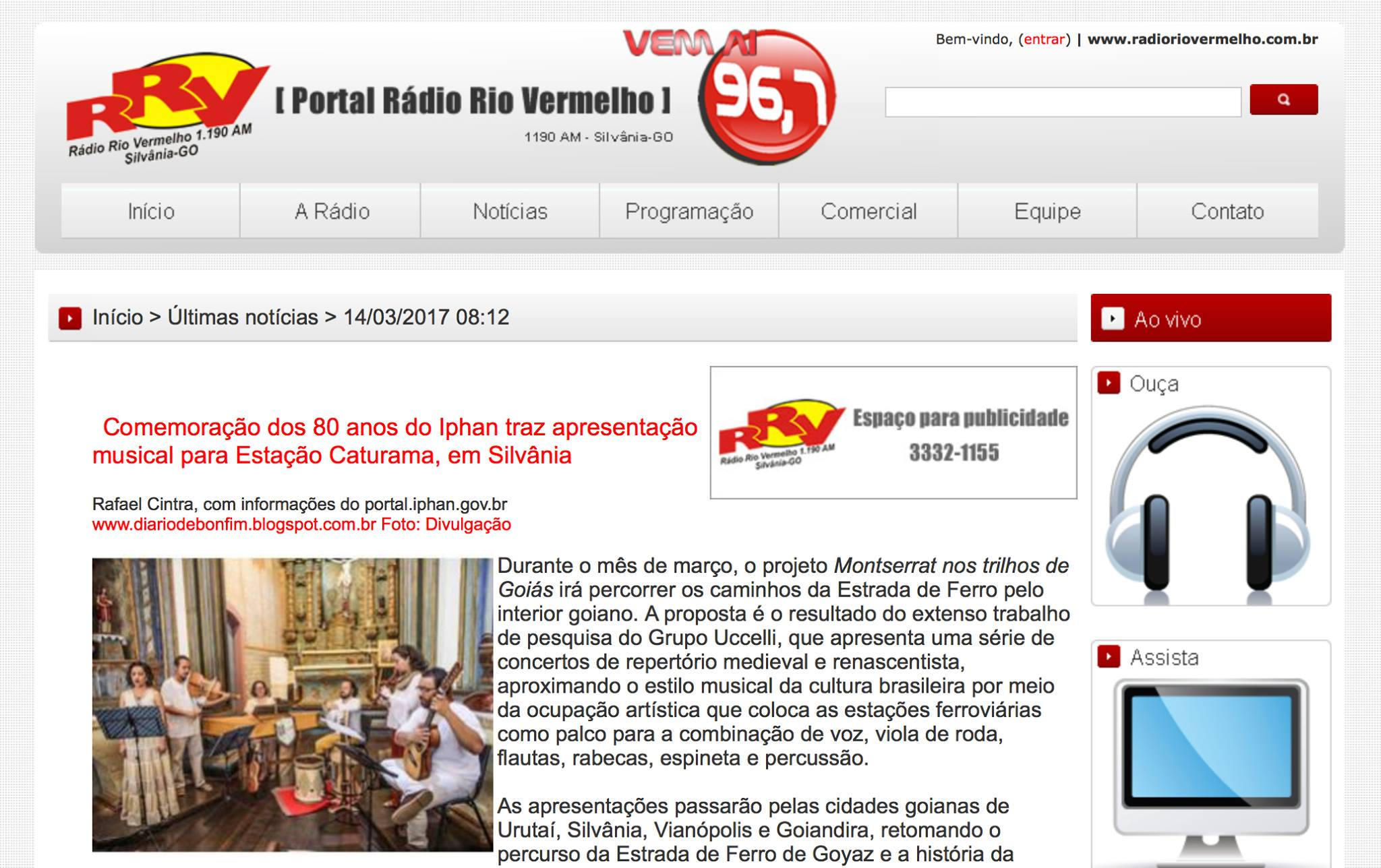 Rádio Rio Vermelho FM (Silvânia/GO)