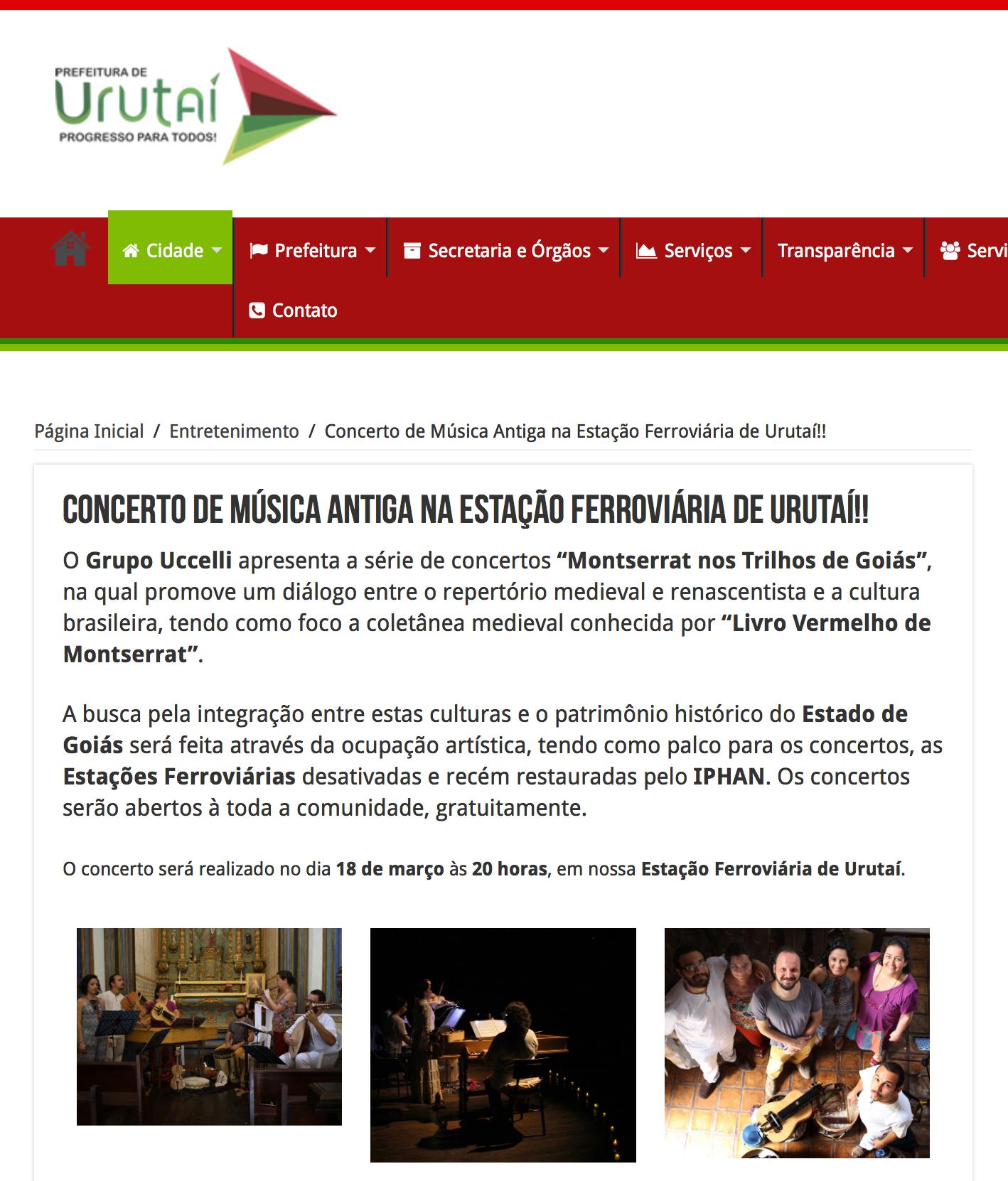 Prefeitura de Urutaí