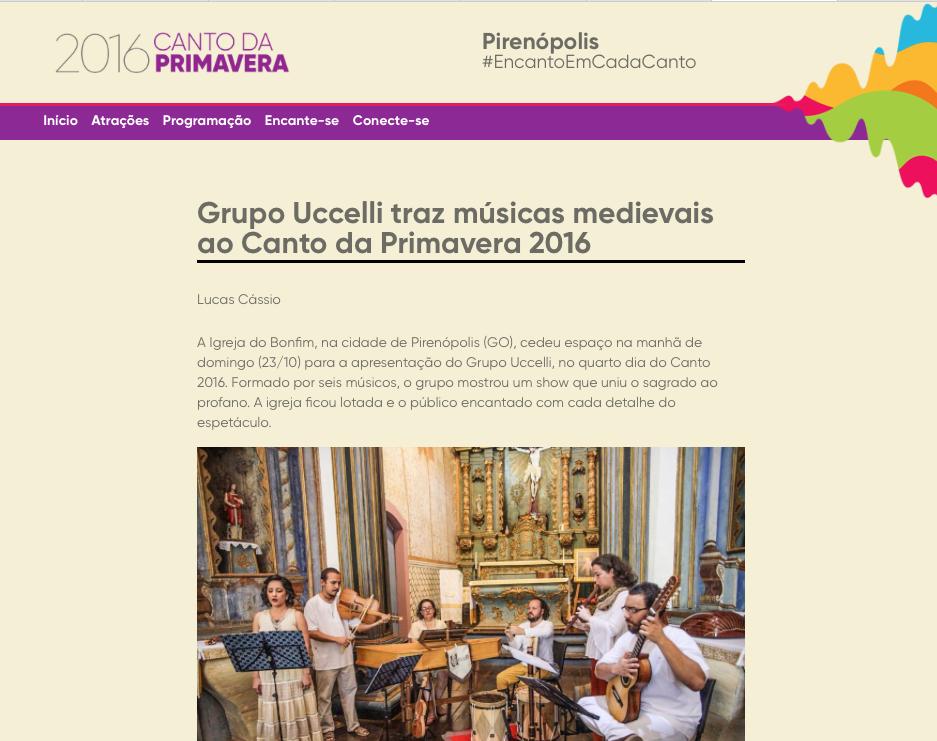 Festival Canto da Primavera