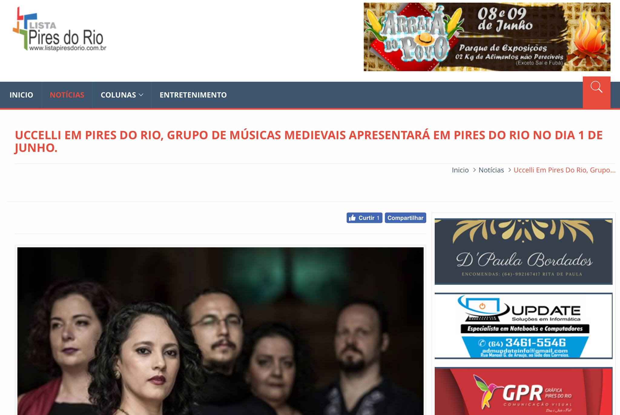 Blog Lista Pires do Rio