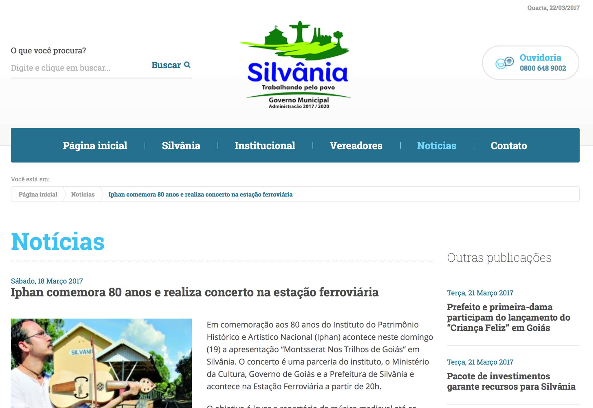 Prefeitura de Silvânia