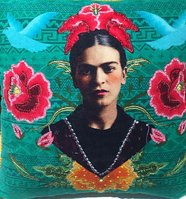 Frida%20Kahlo%20Pillow%20on%20green%20ba
