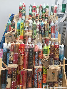 SOUTH AFRICAN FAIR TRADE CANDLES IMG_512