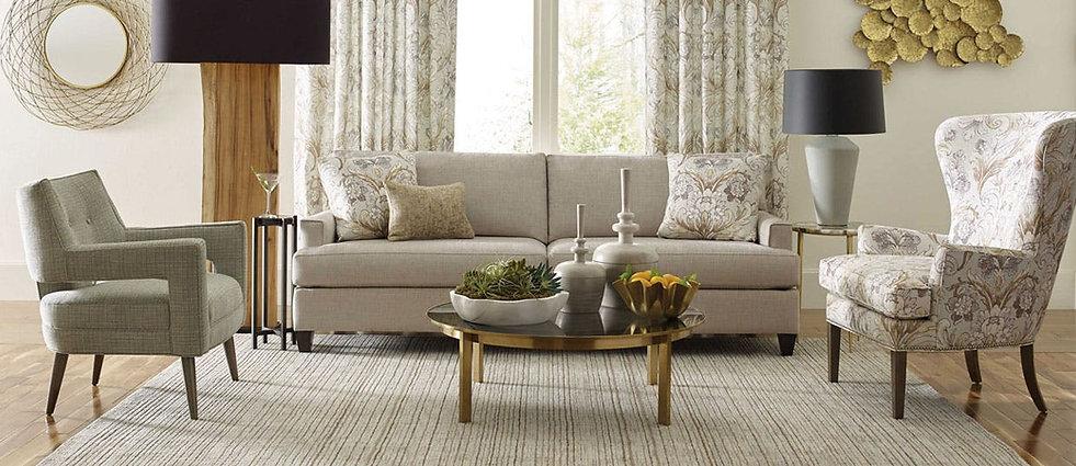 kravet living room furniture and drapery