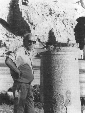 אהרון וגמן מוזיאון אוצרות קיסריה שדות ים