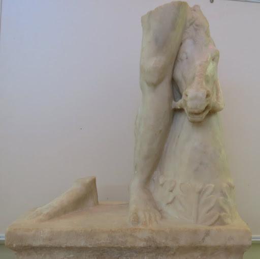 האחים הדיוסקורים, התקופה הרומית, מוזיאון אוצרות קיסריה