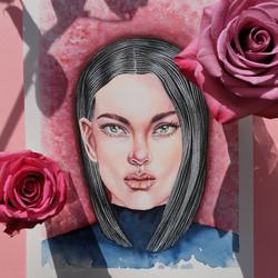 Portrait - Aquarelle
