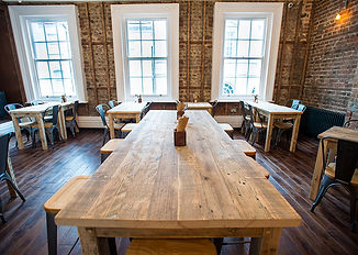 Bespoke handmade tables from reclaimed timber