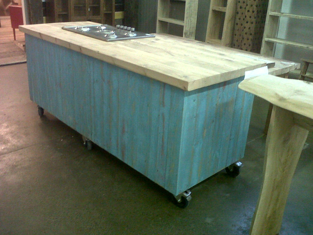 Mobile Kitchen Island Brighton Hove Wood Recycling Timber Yard Shelves Floorboards