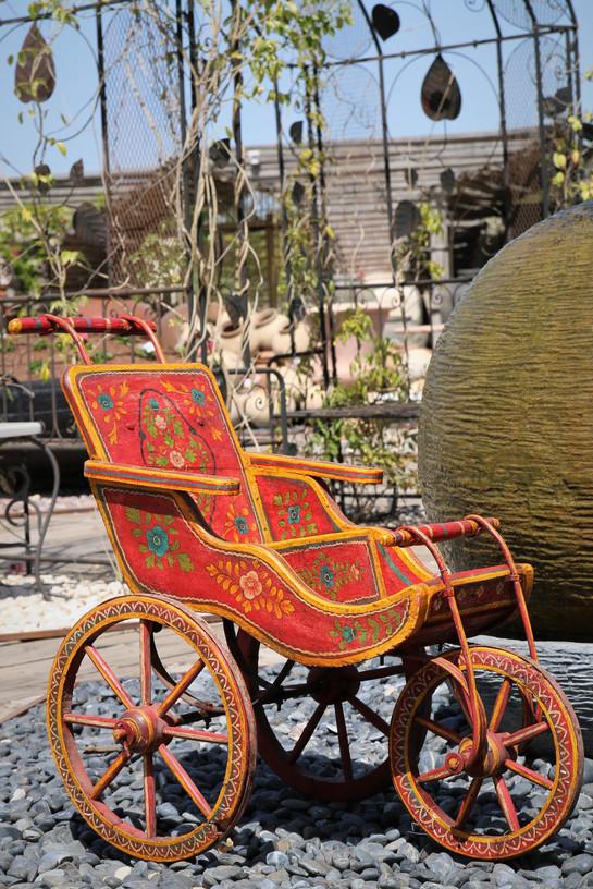 עגלה עתיקה מסין