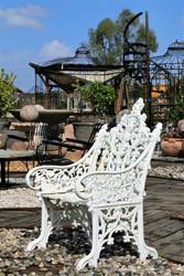 ספסל כורסא מברזל יצוק