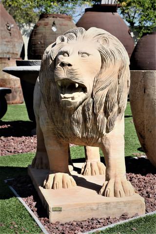 פסל אריה