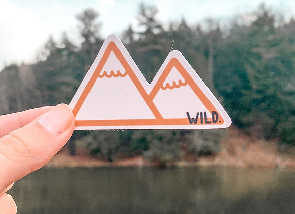 Wild Mountain Sticker