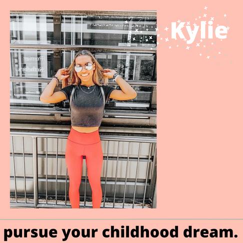 Pursue Your Childhood Dream