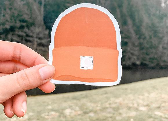 Carhartt Hat Sticker