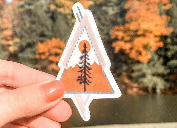 Tribal Tree Sticker