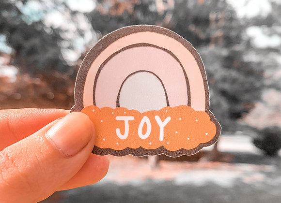 Joy Rainbow Sticker