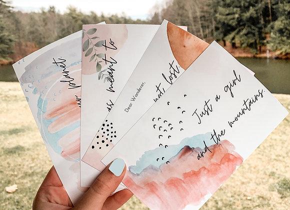 Watercolor Print Pack