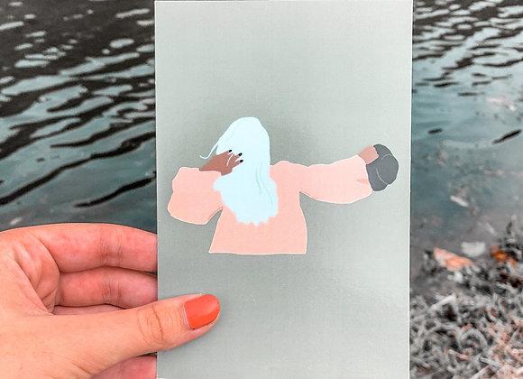 Breezy Babe Print