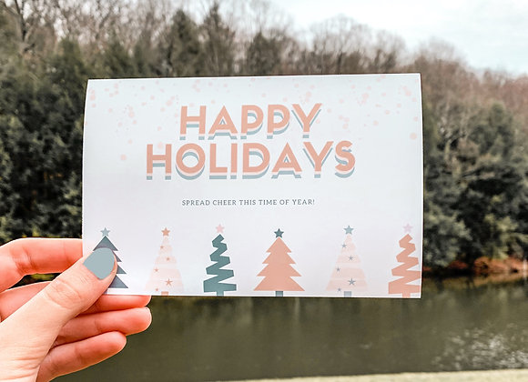 Happy Holiday Postcard