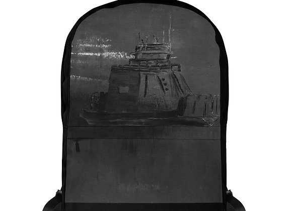 Black Drummond Island Ferry Backpack