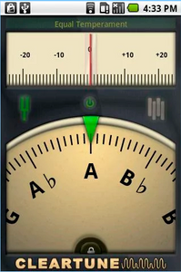picture of a piano tuning app