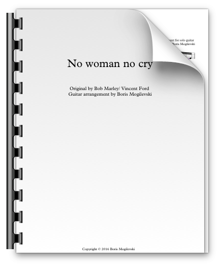 No woman no cry - Bob Marley (PDF)